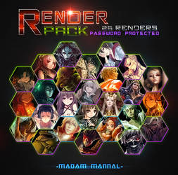 Renders Pack by Madam-Mannal
