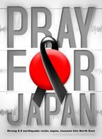 PRAY FOR JAPAN by widjana