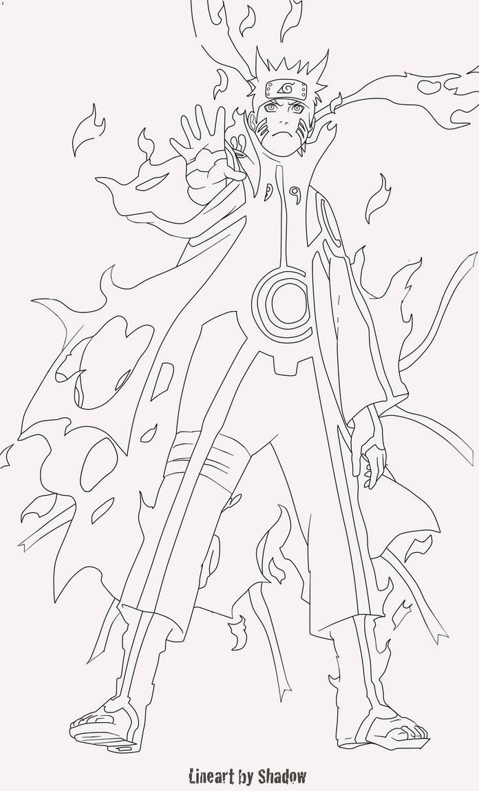 25+ Inspirasi Keren Sketsa Gambar Naruto Mode Kyubi - Tea ...