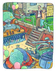 Car Dealership by Yiannisun