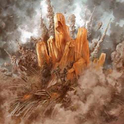 Earth Crystal by Petros-Stefanidis