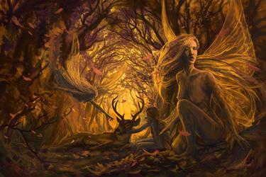 Spirits of Fall by Petros-Stefanidis