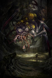 The Terror of Undermountain by Petros-Stefanidis