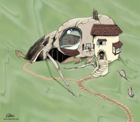 Bird House by alliartist
