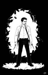 Castiel, angel of the Lord by alliartist