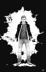 Dean Winchester, kickin ass and takin names by alliartist