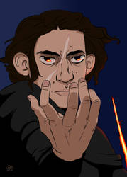 Kylo after the awakening by alliartist