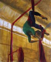 The Aerialist by Kamaro