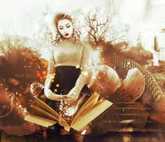Gayoon (4minute) - Magic Book by NekoCrystal-Chii