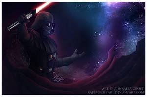 Darth Vader - Across the Stars by KaelaCroftArt