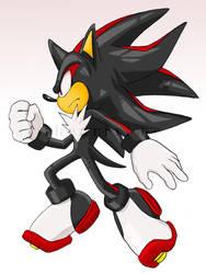 Shadow the Hedgehog by ihearrrtme