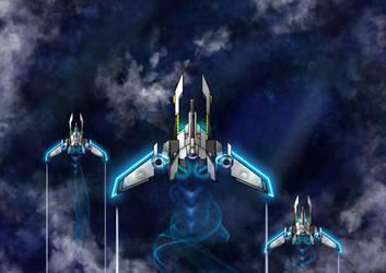 Alara Star Fighter by infinityunbound