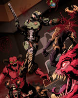The Doom Slayer by BrutalBloodlust