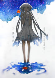 Squid GIRL COLOR by DanEvan-ArtWork