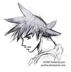 Goku by pochis