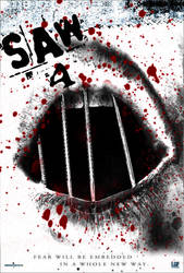 Saw 4 Poster by broffy