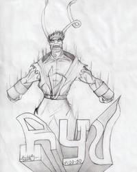 Evil Ryu by Enrique23