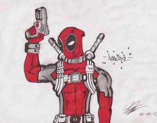 Deadpool by Enrique23