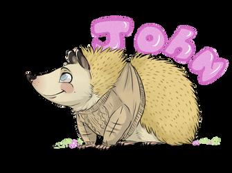 Hedgehog john by Kimbolt-Prime