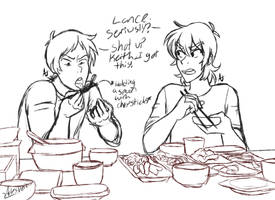 Voltron|Really Lance????? by ArtesVeil
