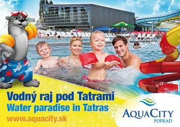 AquaCity Poprad advert by crestyan