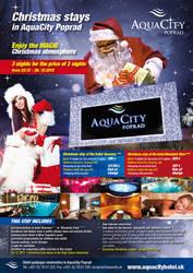 Advertising Aquacity Christmass Print by crestyan