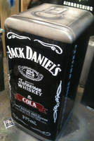 Jack Daniels fridge by magaggie