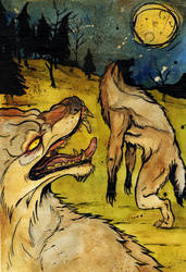 W is for Werewolf by julip