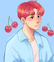 Cherry Kook by peachycocoa