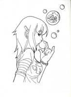 Bubbly Lineart by Seppi-kun