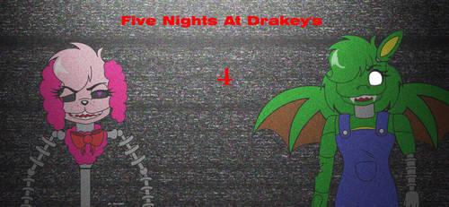 Five Nights At Drakey's 4 ( Art Trade ) by delilah02