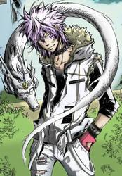 Byakuran and the White Dragon by YamiHW