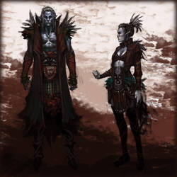 Dark Elfs by your-fathers-belt