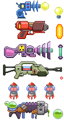 Space Guns by MatWashburn