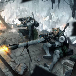 Retribution Heavy Rifle Crew by N-ossandon-Nezt