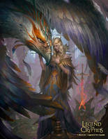 Holy Bird Goddess Reg by N-ossandon-Nezt