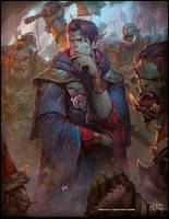 Orc Magician by N-ossandon-Nezt