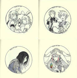 Inktober Tales of Link - Mobile Game by MinamiTakahashi