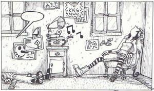 I do love lazyness by Kite-ridE