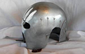 Uruk-Hai Berserker Helmet Side by aBlindSquirrel