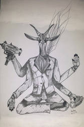 Godly Antelope Mob Boss by xRaithe