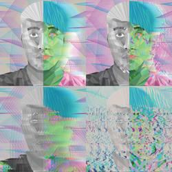 Nonrepresentational Self Portrait by xRaithe