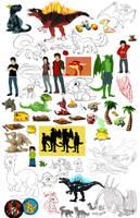 art dump by Natsuakai