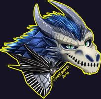 Halloween #3: Blue Jack Skellington by Natsuakai