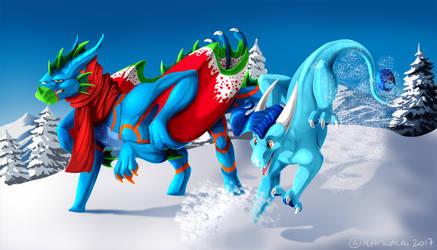 Comm: Winter Wonderland by Natsuakai