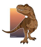 Dinovember: Rexy by Natsuakai