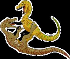 Dinovember #4: Coelophysis by Natsuakai