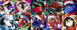 Christmas icons #1 by Natsuakai