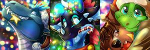 Christmas icons #3 by Natsuakai