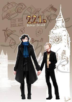 Commission - Sherlock by hatoribaka